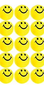 smile stress balls