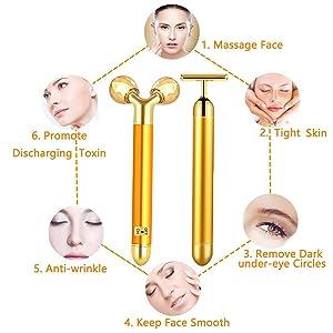 facial rollers skin roller face rollers masajeador facial