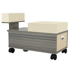 Alera Rolling Pedi Cart