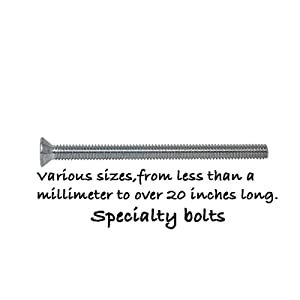 Specialty bolts.