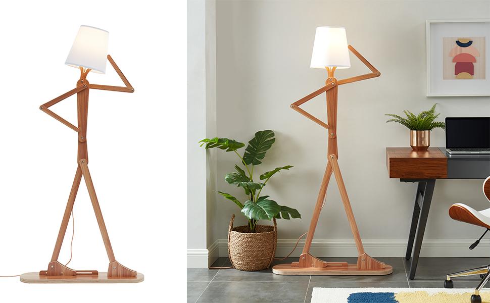 Window floor lamp