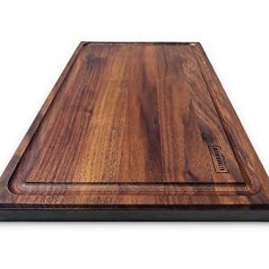 walnut wood cutting board charcuterie maple hardwood kitchen chopping block thick wooden butcher