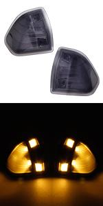 dodge ram side mirror turn signal led light
