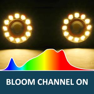 bigg 2000w light grow bloom flowering channel on