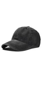 baseball hat vintage washed low profile boys girls camping trip hiking