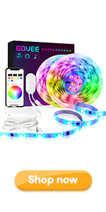 32.8ft dreamcolor alexa led strip lights work with google home waterproof for home room party child