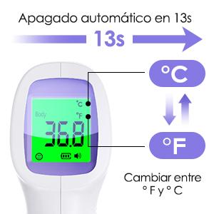 Termometro Infrarrojos Digital