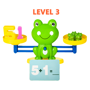 frog number toy