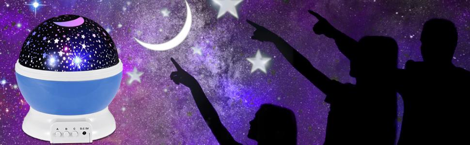Elestars Night Light Projector