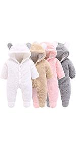 baby coat newborn clothes baby snowsuit baby girls jumpsuit coat boys bodysuit romper warm cloth