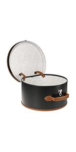 Hutkoffer koffer hut hutbox box hutschachtel schachtel deko transportbox