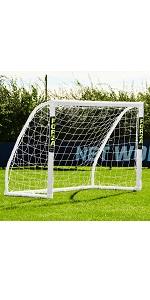 FORZA Match Portería de Fútbol de PVC Impermeable (1,5m x 1,2m ...