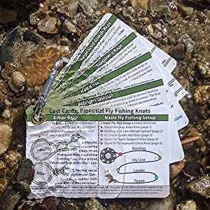 Cast Cards: Essential Fly Fishing Knots are totally waterproof