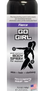 Go Girl Multi pack 3 scents