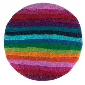 Sitzkissen Regenbogen