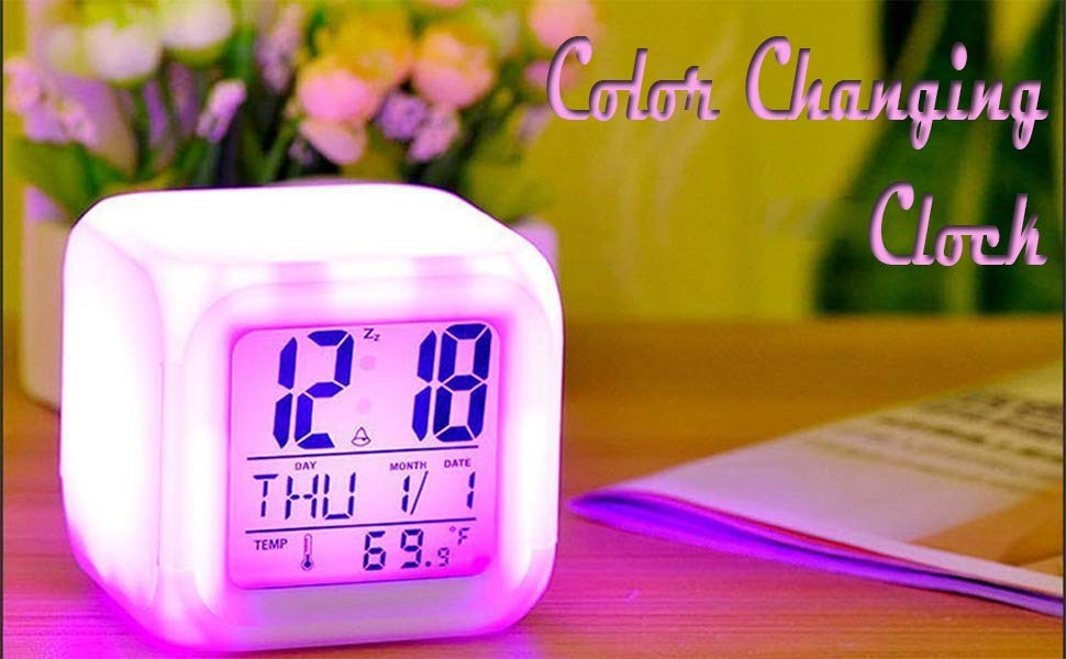 7 Color Clock