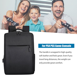 PS5 Carrying Case, Travel Carrying Bag for PS4 PS5