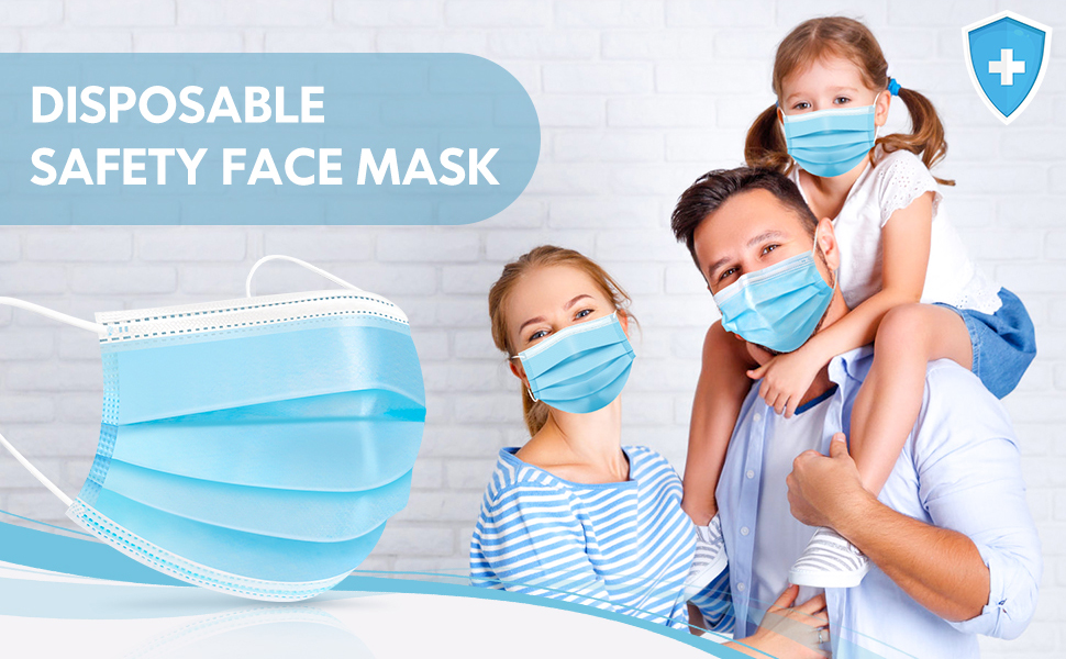 disposable safety face mask