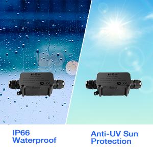 IP66 waterproof junction box