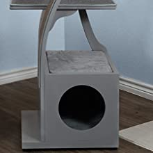 The Refined Feline Lotus Cat Tower