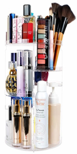 makeup storage clear