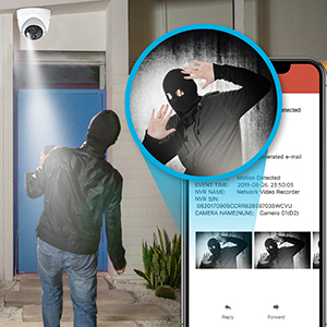 pir cctv camera system keep your home and business safe