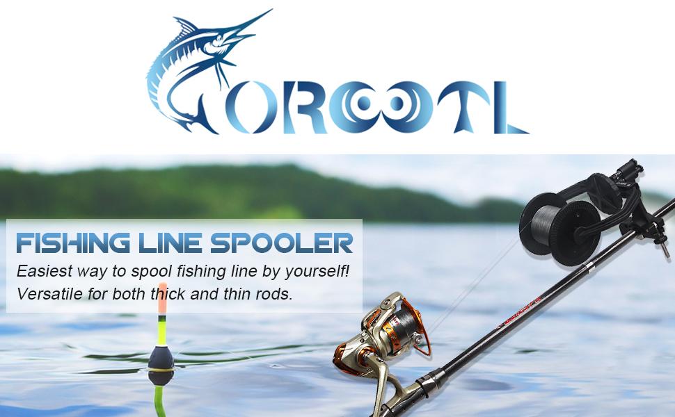 OROOTL Fishing Line Winder Spooler Machine