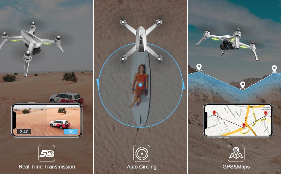 5G WIFI + دائرة الطيران + خريطة GPS