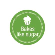 bakes like sugar