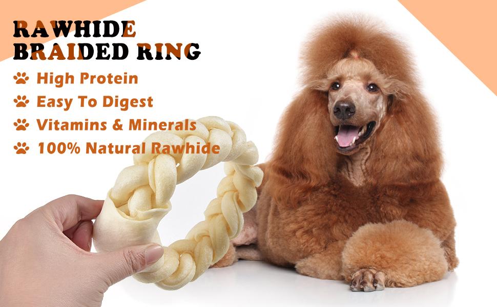 dog rawhide bone