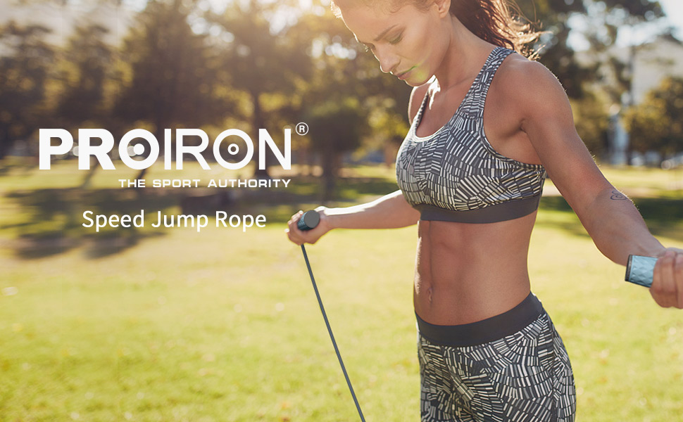 PROIRON Weighted Jump Rope(1LB)