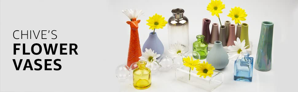 Chive Flower Vases