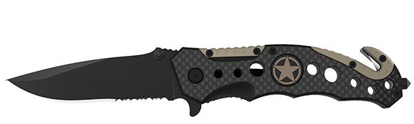 Carbon Fiber Tactical Knife