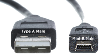 usb 2.0 cable type a/b, mini cable camera, video camera cable, digital camera cable, mini usb cable