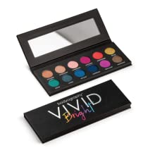 vivid bright eyeshadow eye makeup