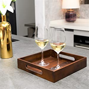 drinking serving tray