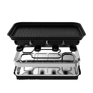 Plaque de grill amovible