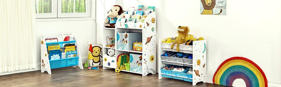Children's shelf.