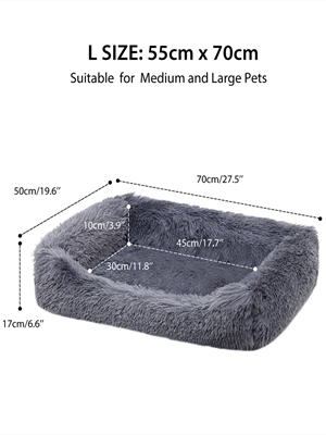 Orthopedic Dog Bed & Sofa with Removable Washable Cover