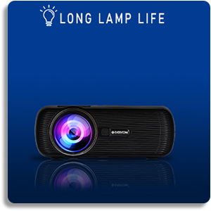 Everycom x7 projector lamp life