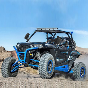 X3 XDS X3 XRS X3 900 OCPTY Black 1.6-2 Cage Bar Break Away ATV UTV Left and Right Side View Mirror Fit for Polaris Ranger RZR 800 900 1000 900 S Turbo Kawasaki Mule Can Am X3