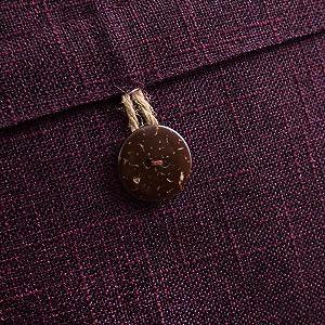 farmhouse pillow covers retro vintage decor accent home decoration button cushion