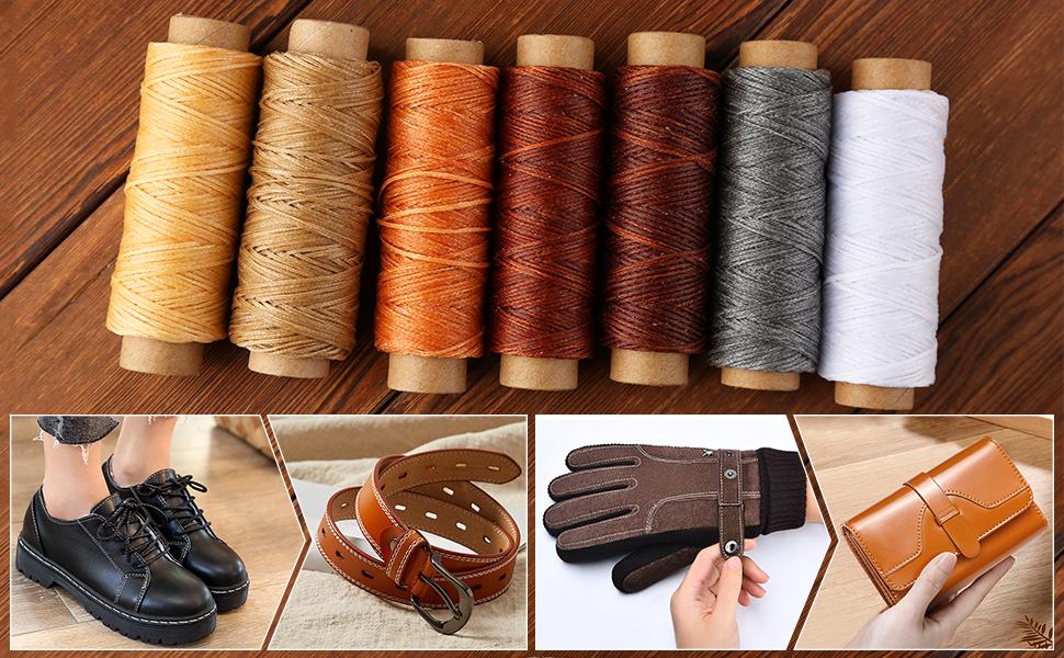 leather hand stitching set