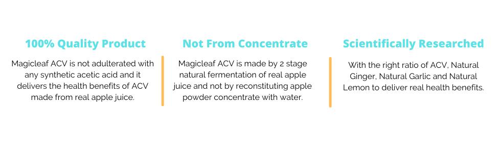 Why Magicleaf ACV?
