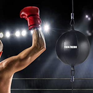 double end punching bag