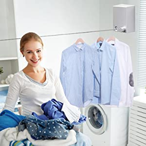 bathroom drying line
