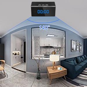 Camara Espia Oculta WiFi Reloj Despertador 1080P TANGMI Mini Seguridad Cámara Inalámbrica Videocámara Detección de Movimiento con Visión Nocturna 140°: Amazon.es: Bricolaje y herramientas