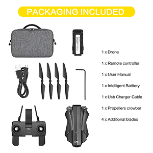 Package in included battery