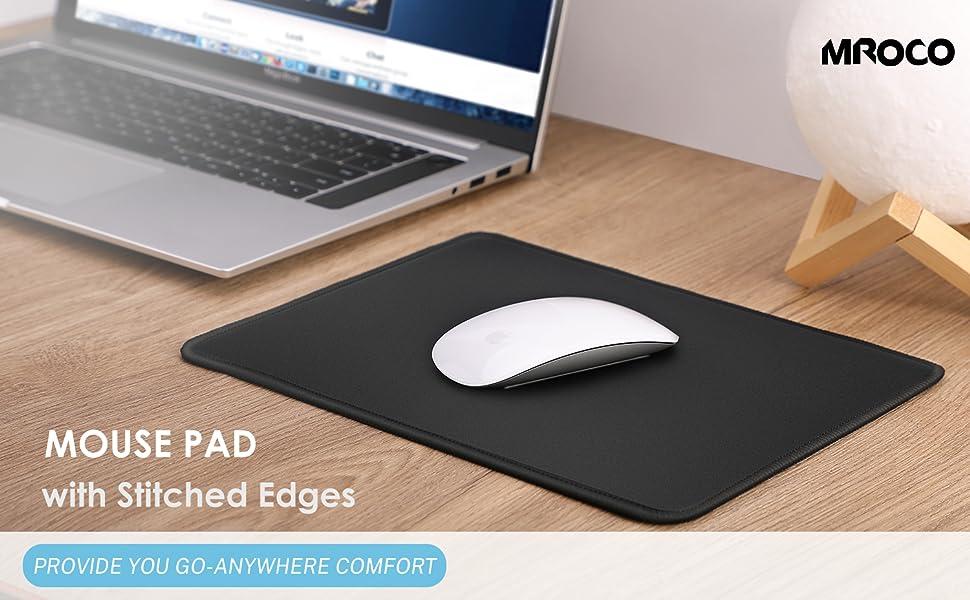 1PC Ergonomic Dust-proof Support Mouse Pad Mice Mat Computer PC Laptop Non Slip