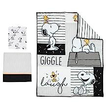 Classic Snoopy 3-piece crib bedding set